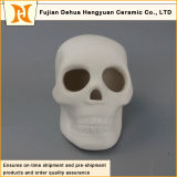 Ceramic White Skull Halloween Decoration