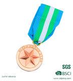 2017 de nieuwste Medaille van de Beloning van de Sporten van de Stijl Gouden met Bibbon