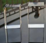 K9 cubo di cristallo inciso laser di cristallo trasparente del blocco 3D per la stampa di colore