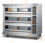 Verkoop! ! ! ! De Apparatuur van de Keuken van de Apparatuur van de Bakkerij van de Oven van de Pizza van de Oven van het Brood van de Oven van het Dek van het gas (rql-y-1A)