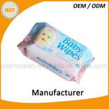 플라스틱 상자에 있는 80PCS 연약하고 & 온화한 냄새가 좋은 아기 닦음
