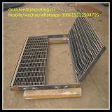 Гальванизированная прикрепленная на петлях сталь стекает решетку