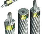 Bare Conducteur ACSR / Aw Aluminium Conductor Steel Reinforced la norme ASTM