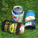 El neopreno aislado impreso de encargo puede una cerveza más fresca Koozie (BC0001)