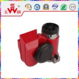 Red ODM ABS Snail Car Horn