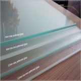 verre trempé de 4mm pour les toits et les murs en verre de serre chaude