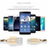 Câble de caractéristiques micro de remplissage rapide du téléphone mobile USB pour l'androïde