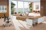 대중적인 배치 6feet 두목 테이블 호화스러운 나무로 되는 사무실 책상 (SZ-OD483)
