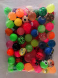 a Variety of Pattern Assortments of Elastic Ball/Bouncy Ball