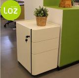 Gabinete de arquivo de madeira móvel do fabricante do suporte