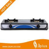Nonstic 2バーナーのテーブルの上のガスこんろJpGc206t
