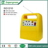 Beweglicher Solargenerator im Hauptsystem mit beweglicher Aufladeeinheit/Radio