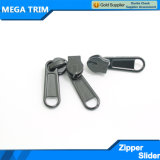Slider quente do Zipper do preto da venda para o Zipper de nylon