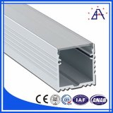Anodisierter schwarzer Aluminiumstrangpresßling-Kasten