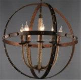 Lámpara pendiente del metal decorativo del hogar o del hotel de Phine