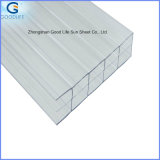 2.3*2.5m/1.5*2.3m 반대로 Static Plain Stripe Printed White Polycarbonate 일요일 Hollow Sheet