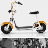 """""""trotinette"""" elétrico barato de Harley 800W 60V dos Cocos da cidade"""