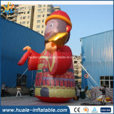 Commerical riesiger aufblasbarer reizender Fallhammer, Karikatur für Verkauf
