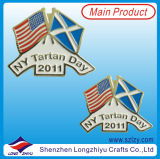 Nuevo diseño de la divisa del Pin de la solapa del indicador americano