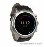1.4 Zoll-runde androide intelligente UhrX5 des Android-4.4 Karte Sport-Mann-der Armbanduhr-SIM Anti--Verlorenes WCDMA WiFi Bluetooth 4.0