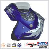 オートバイ(LP505)のための涼しい入れ墨が付いているヘルメットの上の専門家OEMフリップ