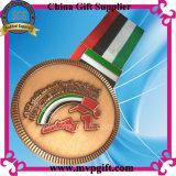 Medalha personalizada dos esportes para eventos da maratona