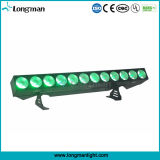 Equipo de iluminación brillante estupenda de aluminio 12PCS * 25W LED de la etapa RGBAW Blinder
