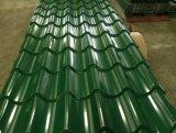 Mattonelle di tetto galvanizzate ondulate colore per la Camera/tetto prefabbricati