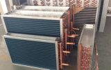 Agua de alta presión para ventilar la bobina de cobre del cambiador de calor