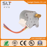 12V imán Gear Box Stepping Motor de dc 4 Phase Permanent