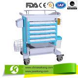 Lavanderia médica do hospital da alta qualidade Skr-LC561 que coleta o trole/carro