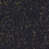 Azulejo Polished de la porcelana de Pulati del color negro para el suelo o la pared