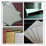 2mm-10mm Clear & Colored Copper Free Silver/Aluminum Mirror com Ce, Csi, GV