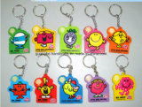 Bunt und Cheap Rubber Key Chain