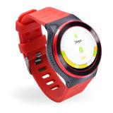 Reloj elegante androide redondo S99 del OS 5.1 GPS de la pantalla 3G