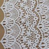 Tela química del cordón del ganchillo del algodón para la ropa y Hometextiles