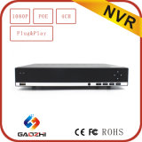 rede DVR do CCTV de 1080P 2MP 4channel com Onvif P2p HDMI