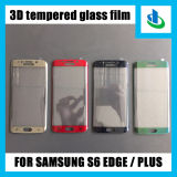 Überlegenes Mobile Accessories 3D 9h Curved Edge Tempered Glass Screen Protectors für Samsung S6 Edge (Electroplate)