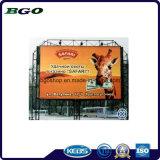 Impression de drapeau de câble de PVC de fabrication de Frontlit (500dx500d 18X12 610g)