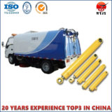 Cilindro hidráulico do caminhão do saneamento da descarga