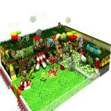 Tema do espaço do equipamento de madeira macio do campo de jogos