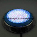 Indicatore luminoso subacqueo Shenzhen della piscina impermeabile del fornitore 18W Ss304 LED di 100%, indicatore luminoso del raggruppamento