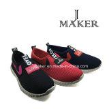 Chaussure de toile occasionnelle de type de dames de prix bas de la Chine (JM2048-L)
