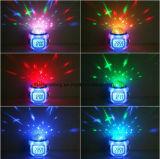 Sterrige Multifunctionele LEIDENE van de Kalender van de Projector van de Muziek van de Hemel Elektronische Klok
