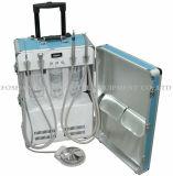 Dental Unidad de entrega portátil Sistema de succión Trabajar Compresor autocontenido