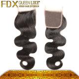 Волос высокого качества цены Dropshipping закрытие шнурка дешевых свободно Parting