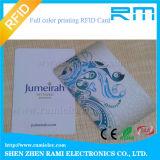 Em sem contato 125kHz 0.88mm do plástico do cartão de barramento do cartão de 125kHz RFID