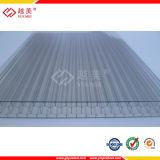 Guangzhou Yuemei alta calidad de policarbonato en relieve Hoja de Solid