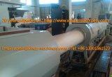 cadena de producción del tubo del PVC de 200-630m m tubo