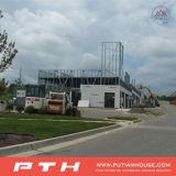 倉庫のためのプレハブモジュラー鉄骨構造の建築プロジェクトか研修会または工場